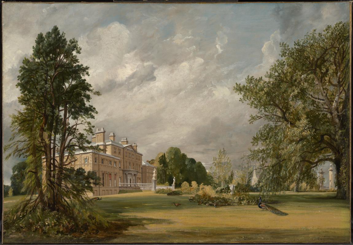 John Constable. Malvern Hall, Warwickshire, England II