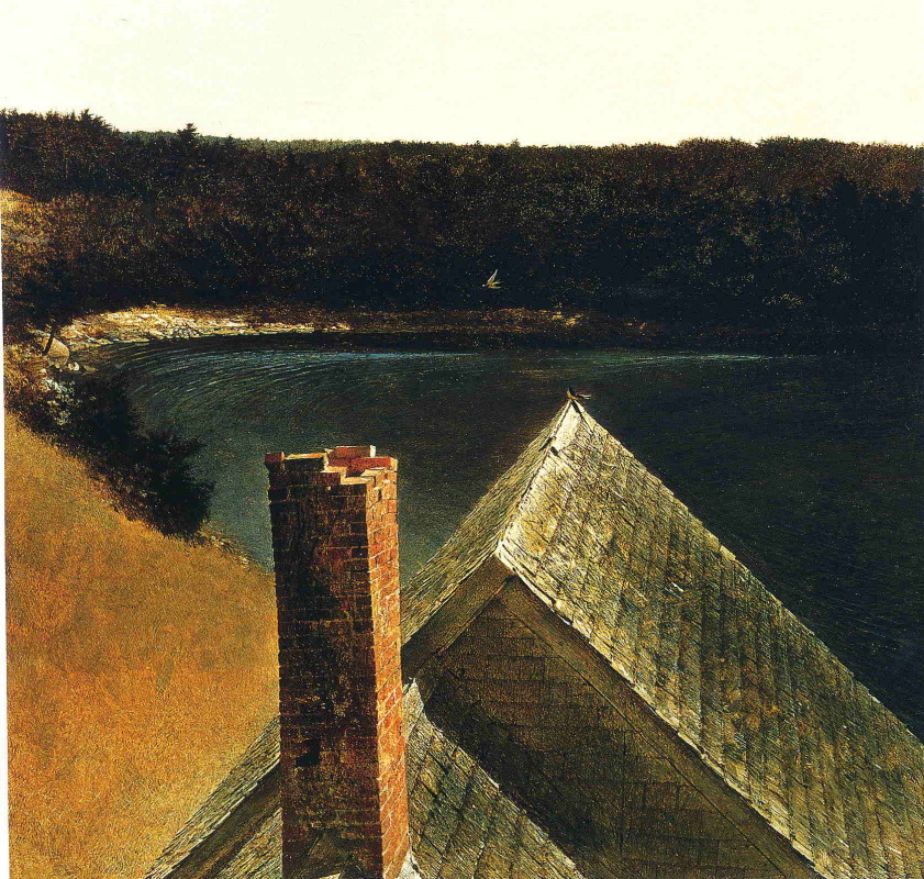 Andrew Wyeth. The End Of Olanow