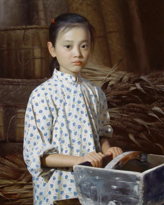 Хан-Ву Шен. Маленькая девочка