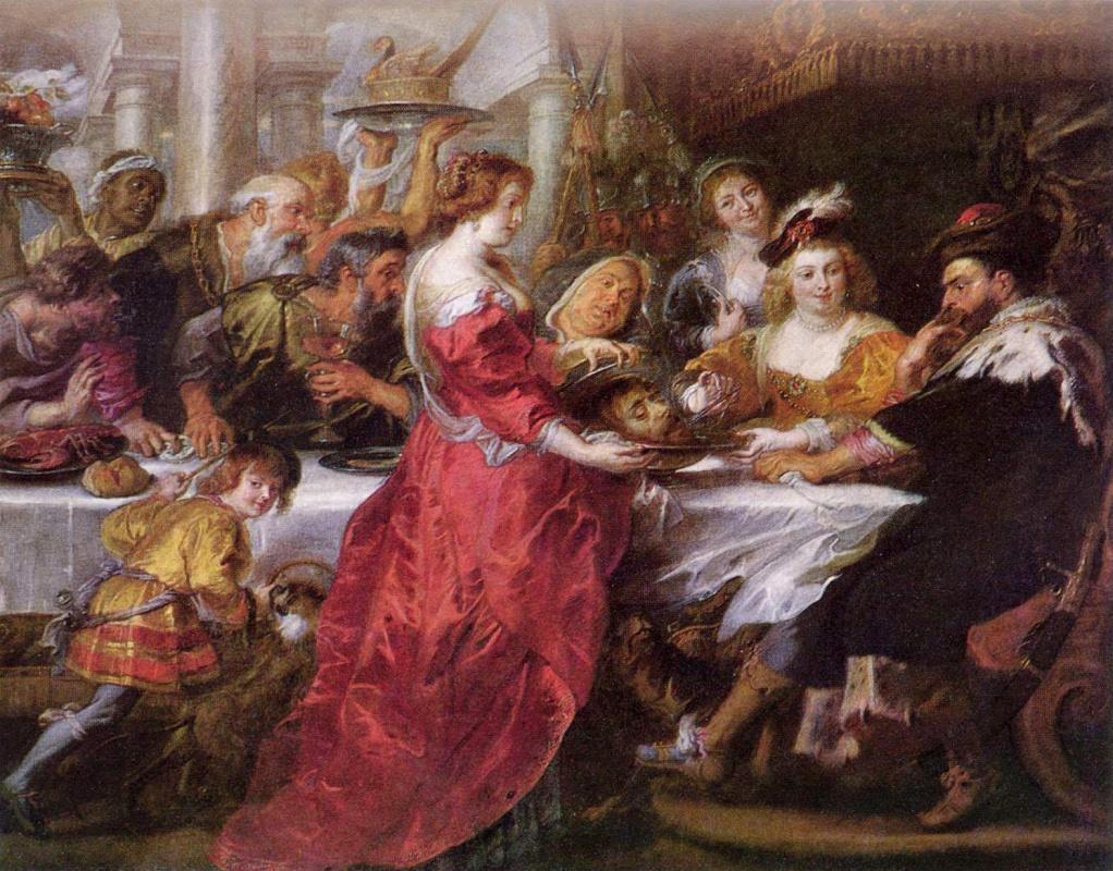 Peter Paul Rubens. The Feast Of Herod
