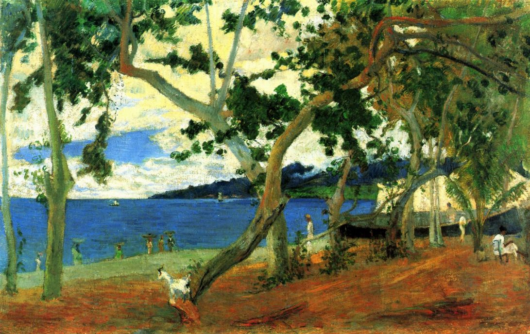 Paul Gauguin. Coastal Landscape of Martinique
