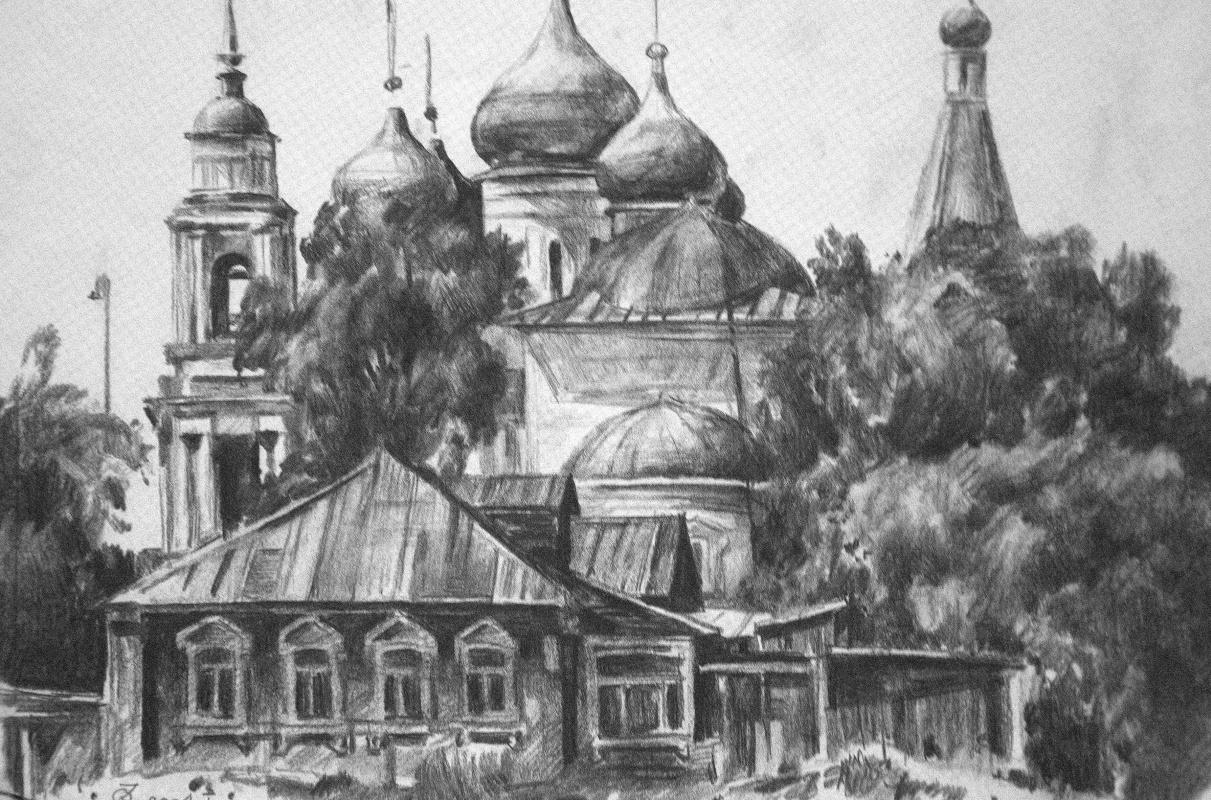 Oleg Borisovich Zakharov. Old Kolomna.