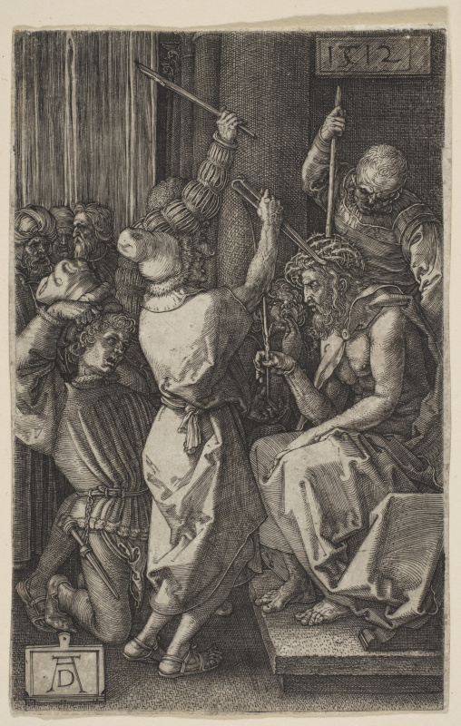 """Albrecht Durer. The coronation a crown of thorns. From the cycle """"the passion of the Christ"""""""