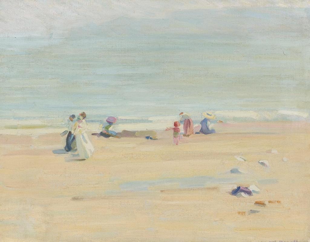 Helen Galloway McNicoll. English beach