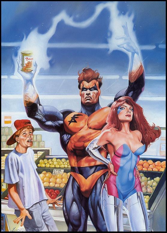 Том Симонтон. Мы все супергерои