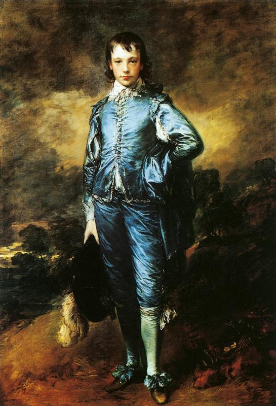 Томас Гейнсборо. Мальчик в голубом. Портрет Джонатана Баттла
