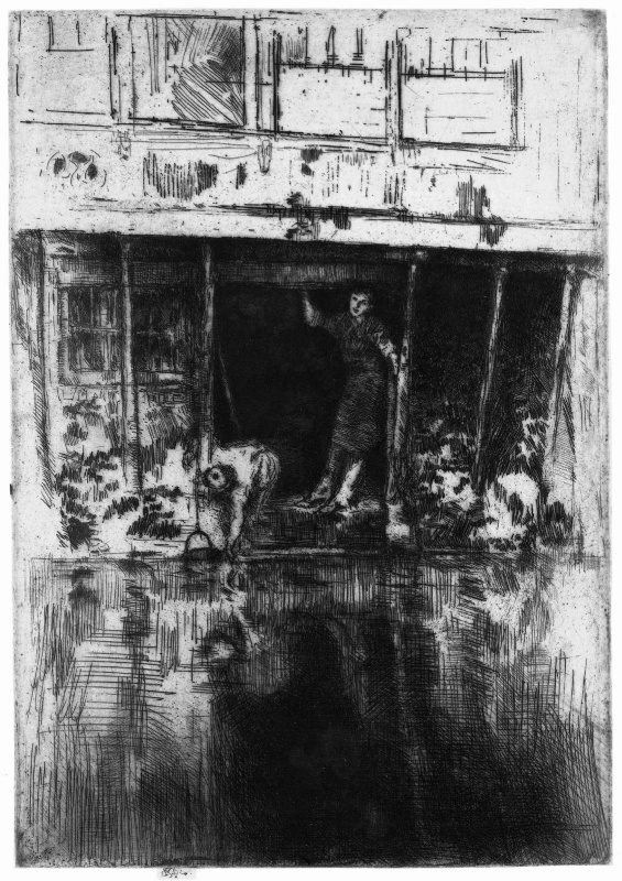 James Abbot McNeill Whistler. Pierrot