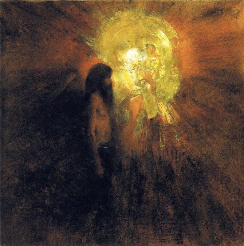Фернан Кнопф. Искушение святого Антония
