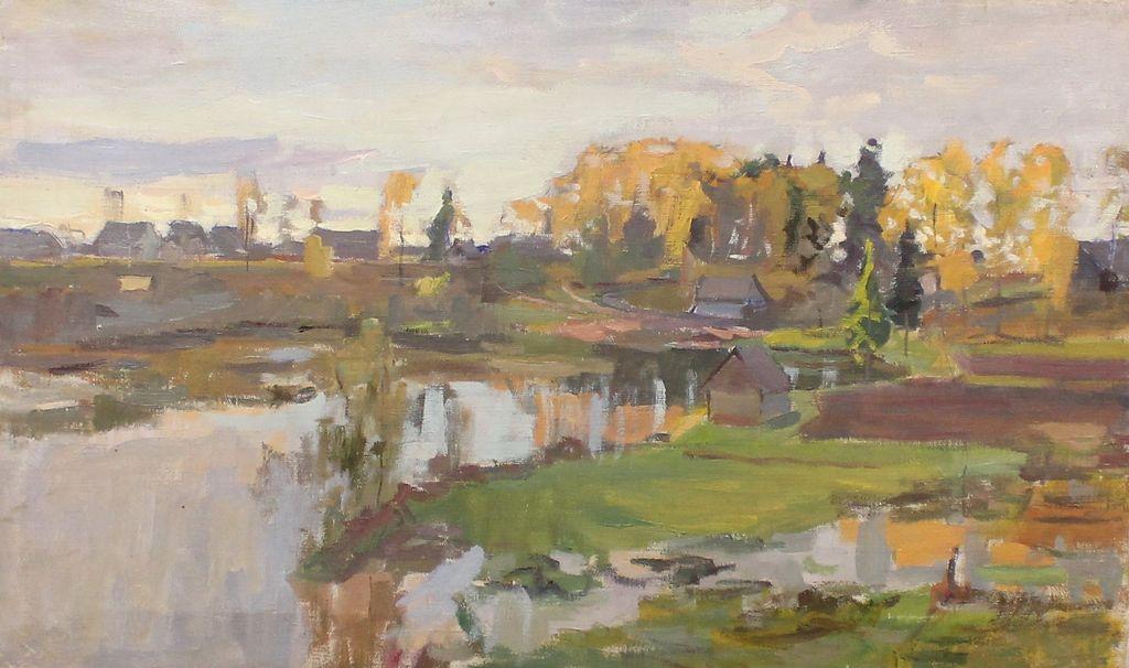 Boris Stepanovich Petrov. Autumn