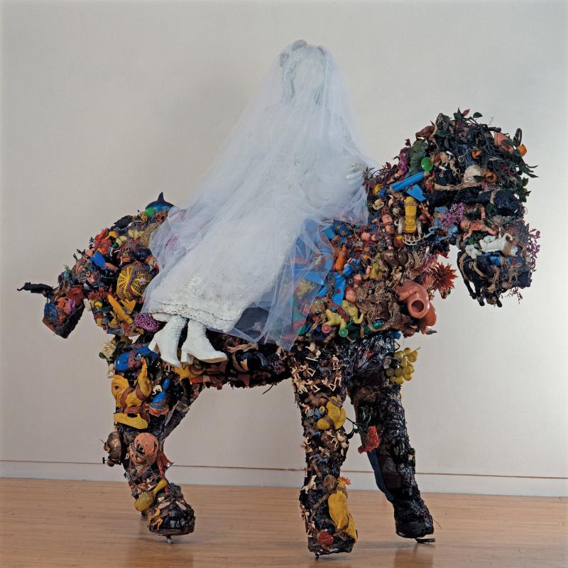 Ники де Сен Фалль. Лошадь и Мария