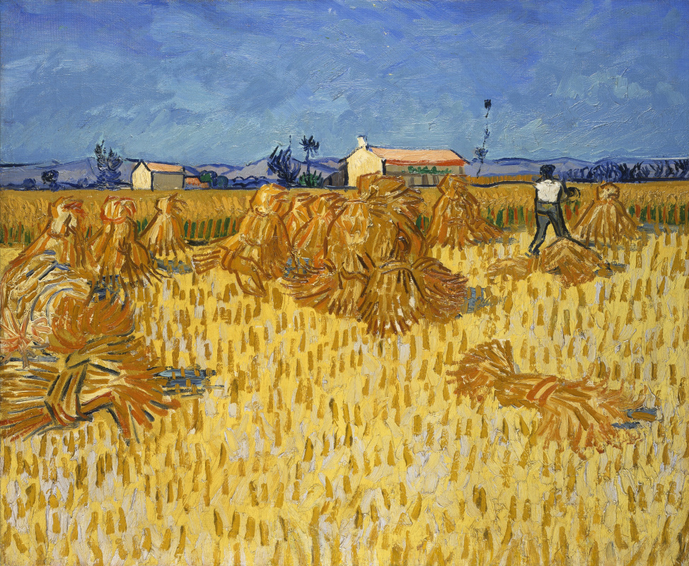 Vincent van Gogh. Harvest in Provence