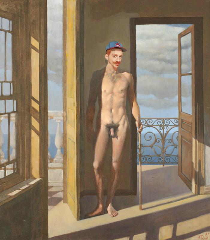 Oscar mamooi. The naked man