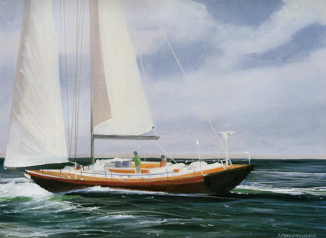 Даниэль Фрей. Магия океана