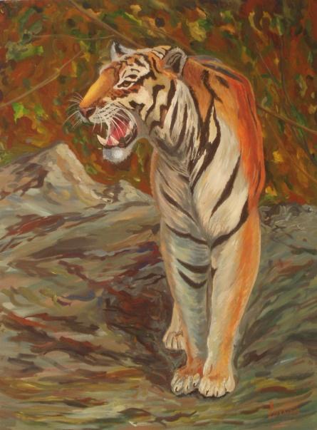 Larissa Lukaneva. Tiger