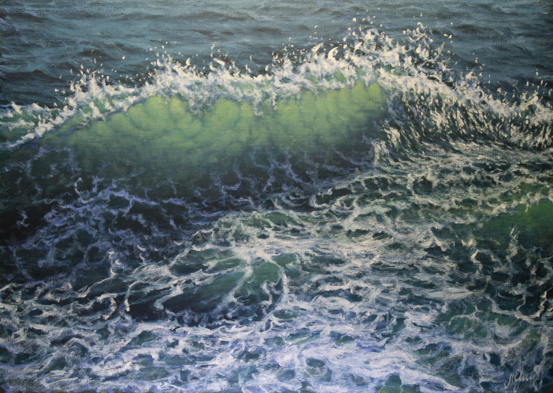 Valery Levchenko. № 594 Seascape.