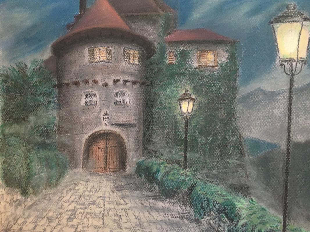 Tatiana Lagunova. Castle in the mountains