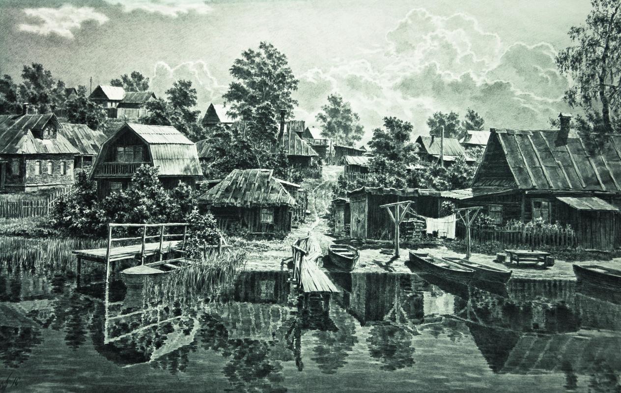 Gennady Gennadyevich Ovcharenko. Seliger coast