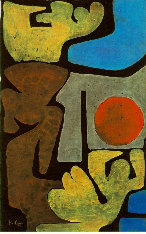 Paul Klee. Park of idols