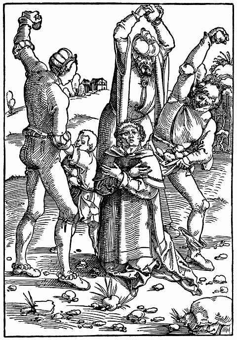 Ханс Бальдунг. Мученичество Святого Стефана