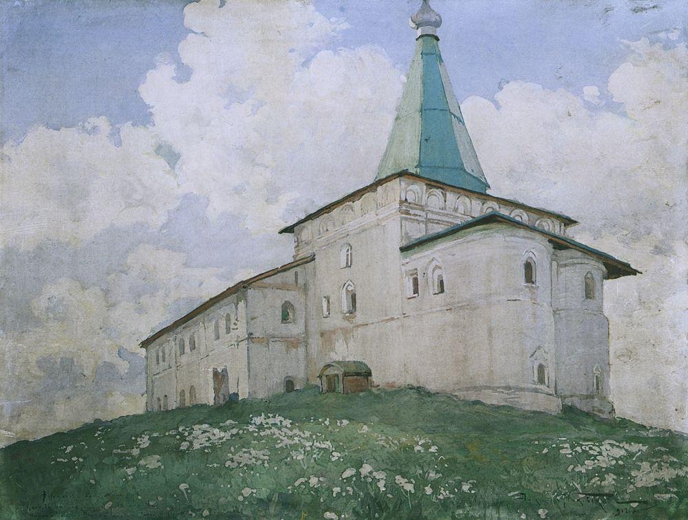 Александр Владимирович Маковский. Антониево-Сийский монастырь. Церковь Благовещения
