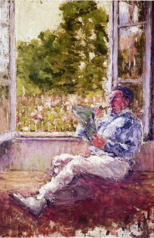 Марсель Дюшан. У окна