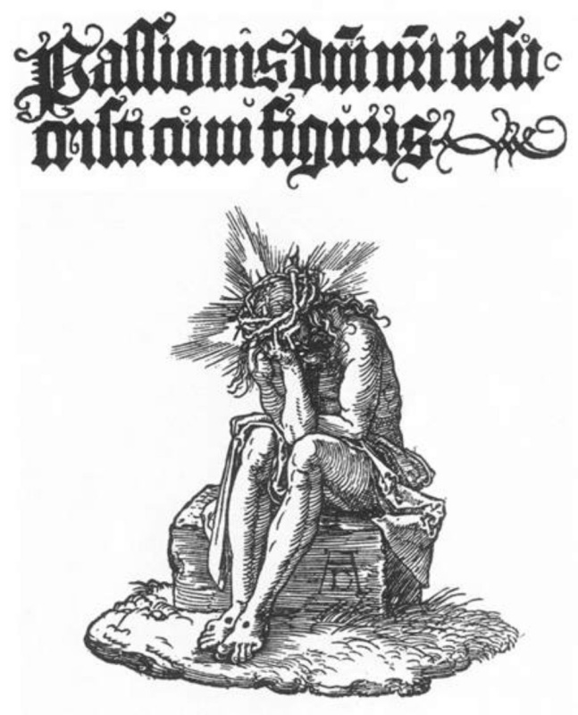Albrecht Dürer. Title page. The small passion