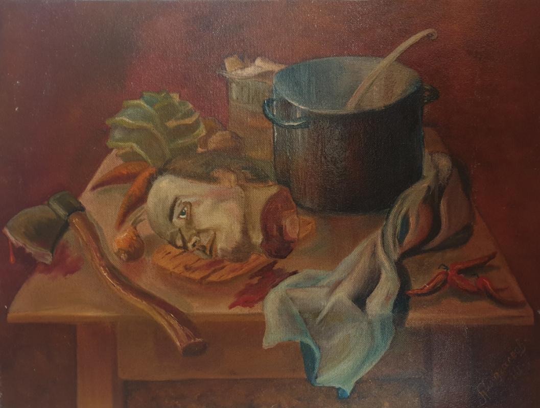 Alik Khazgaleev. Self-portrait