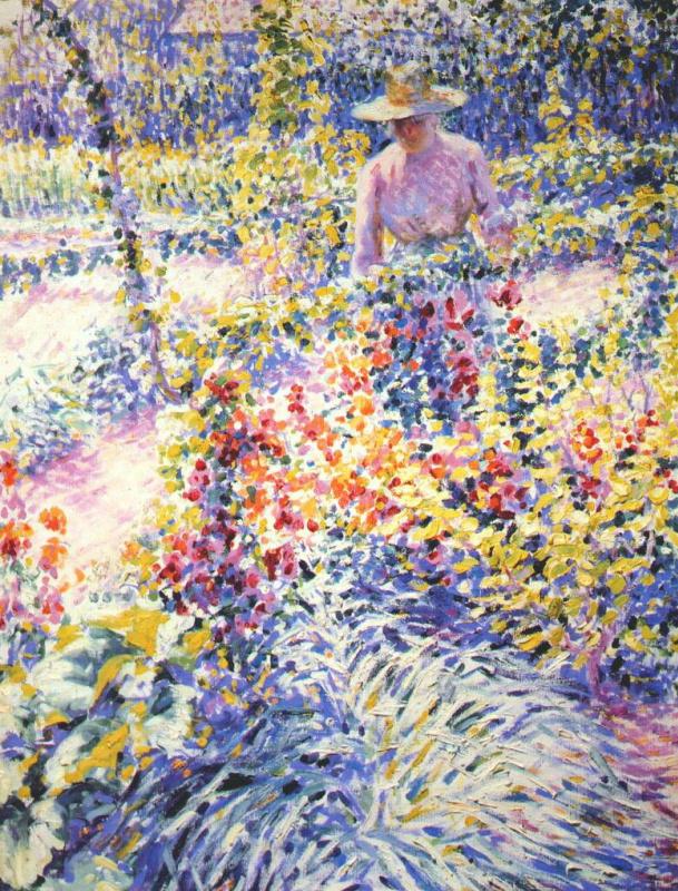 Луис Ритман. Сбор цветов