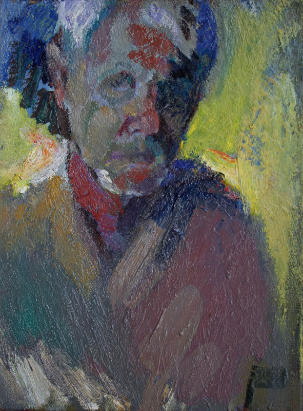 Alexey Vladimirovich Zagorodnykh. Self-portrait