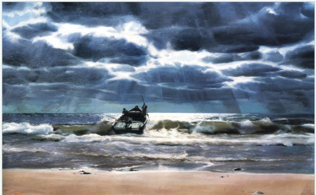 Ю. Пуджиес. Морские путешественники
