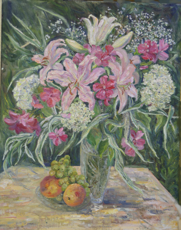 Tatiana Gennadievna Sorogina. Flowers in the garden