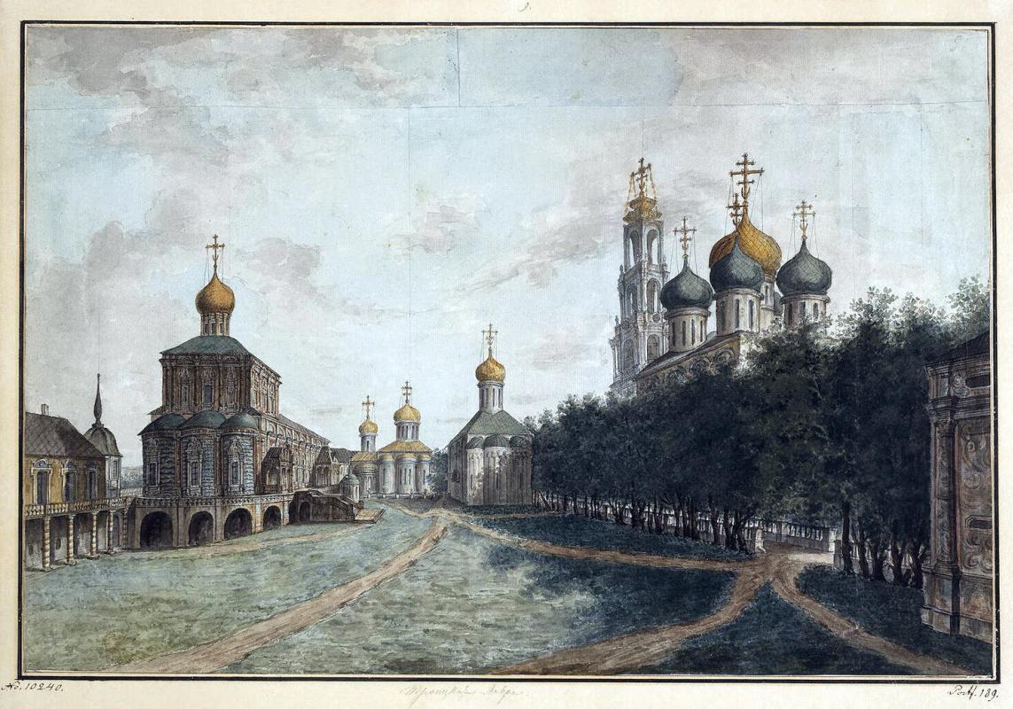 Федор Яковлевич Алексеев. Троице-Сергиева лавра