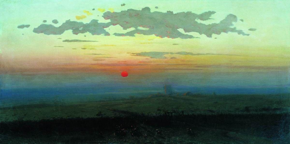 Arkhip Kuindzhi. Sunset in the desert
