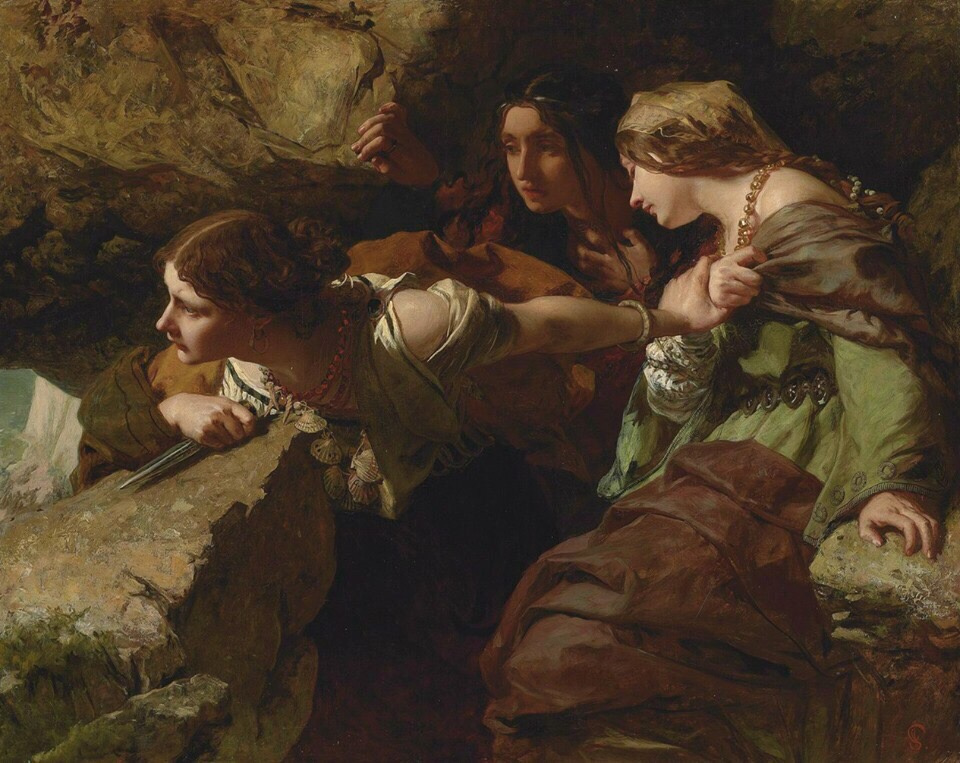 James Sant. Courage, Anxiety, and Despair Watching the Battle