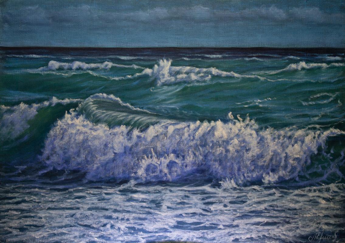 Valery Levchenko. № 600  Морской пейзаж.