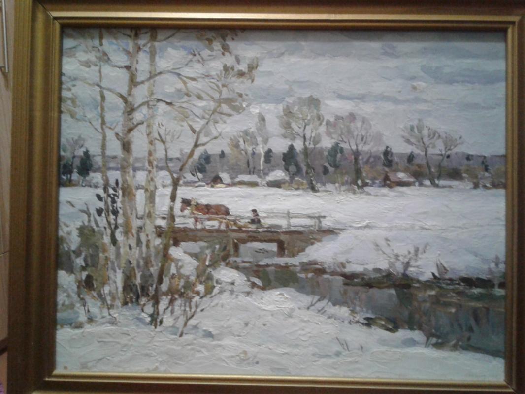 Mikhail Lvovich Zorkin. Winter