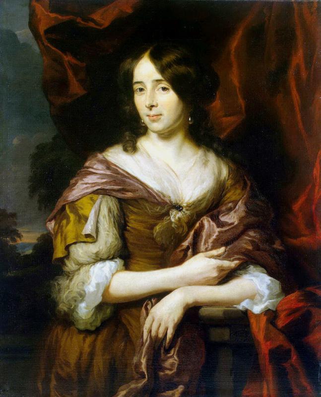 Nicholas Mas. Portrait of a young woman