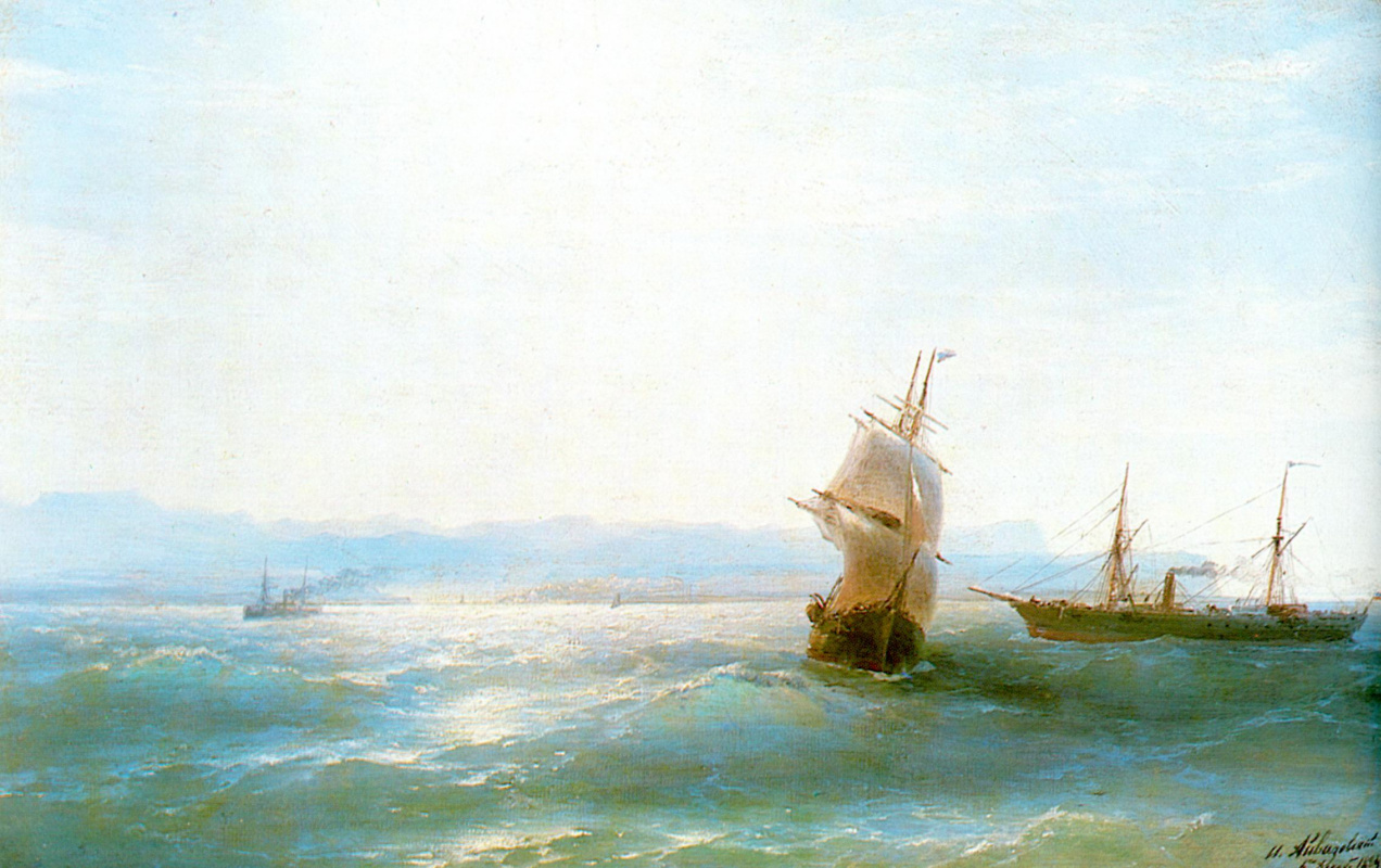 Ivan Aivazovsky. Sunny day