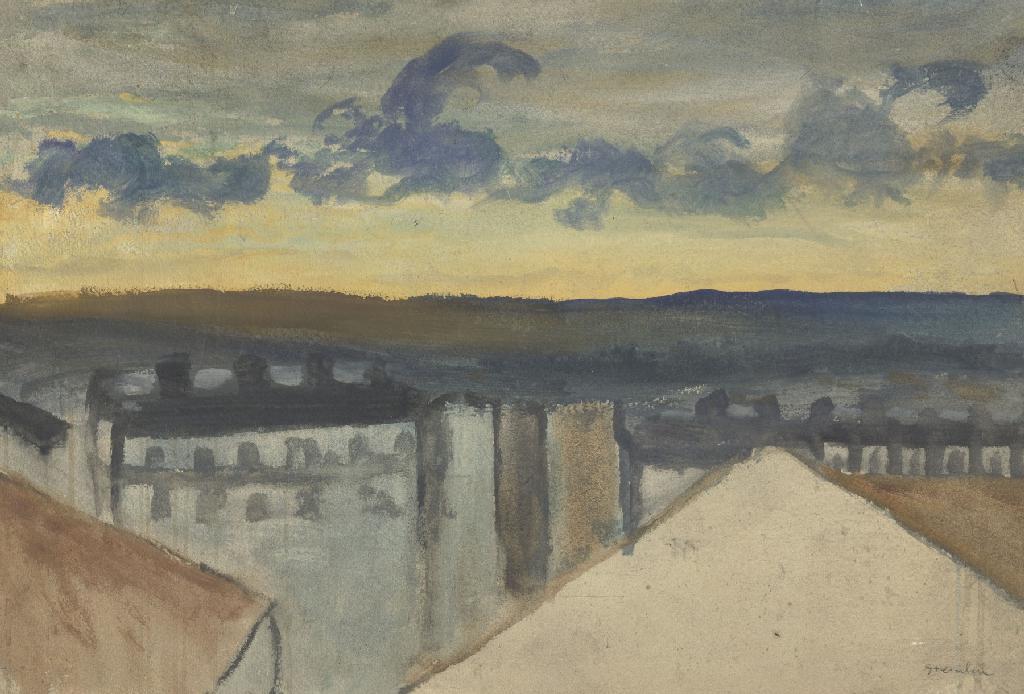 Theophile-Alexander Steinlen. The urban landscape