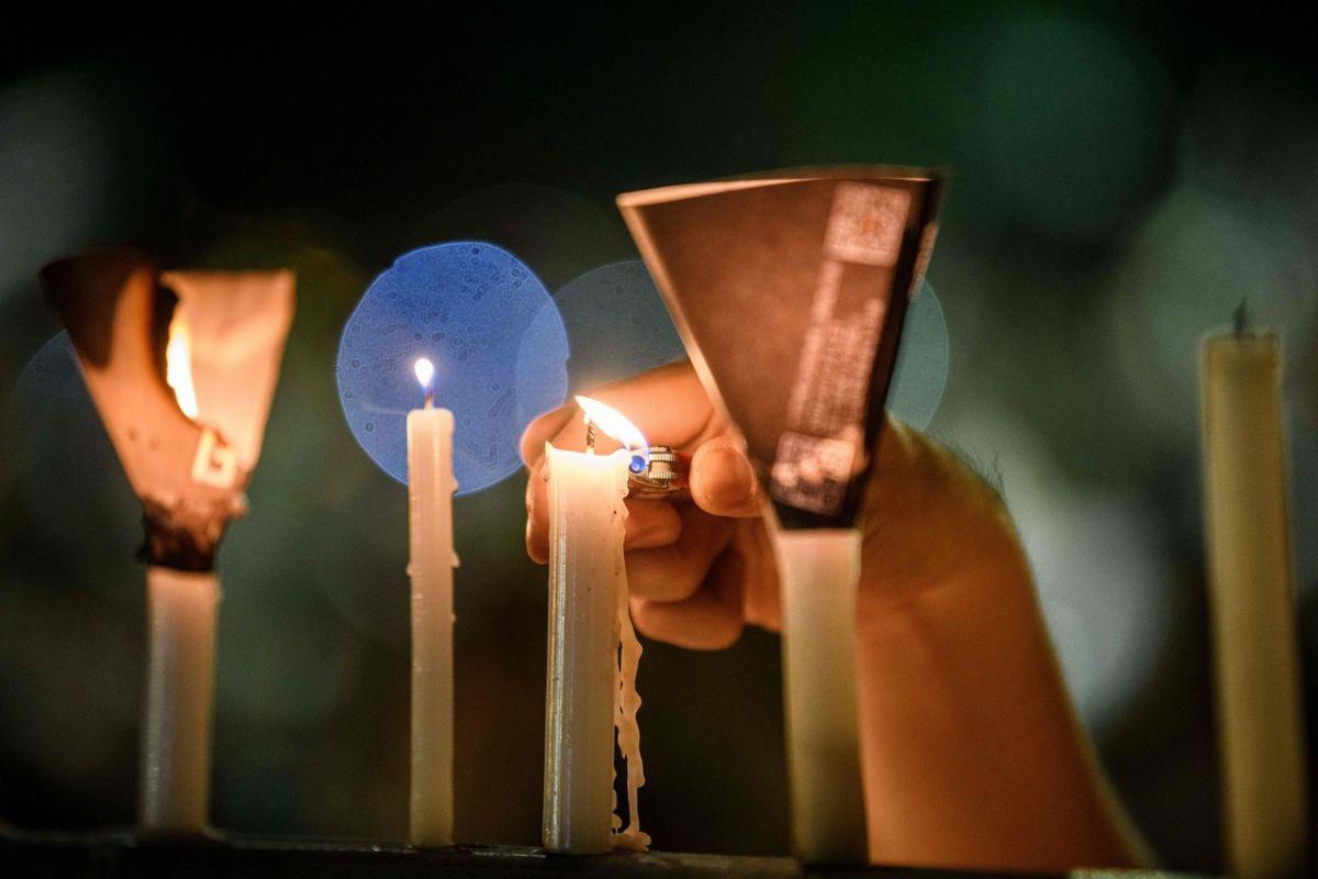 Fredrick Grose. Candle bearing hope