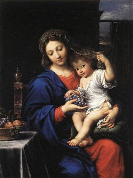 Pierre Minyar. Madonna with grapes