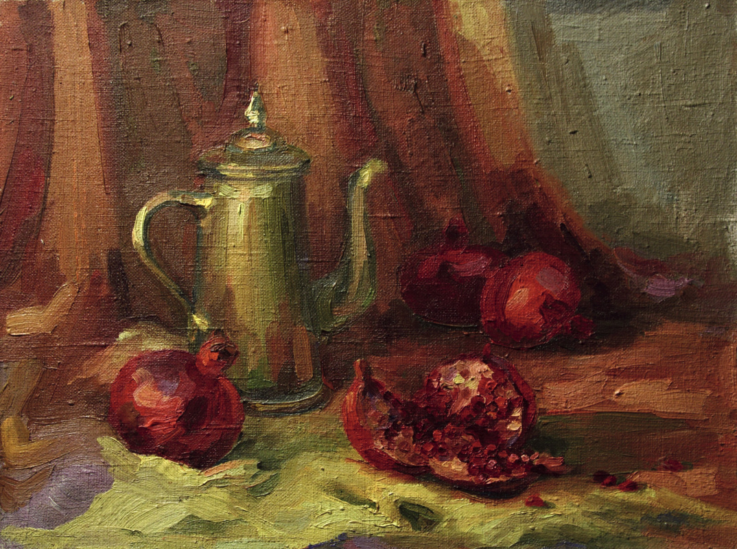 Svetlana Holodnyak. Copper coffee pot