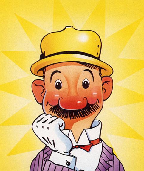 Эверетт Дэвидсон. Желтая шляпа