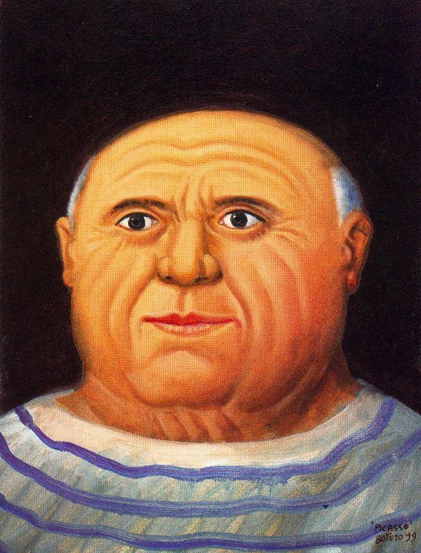 Фернандо Ботеро. Пабло Пикассо