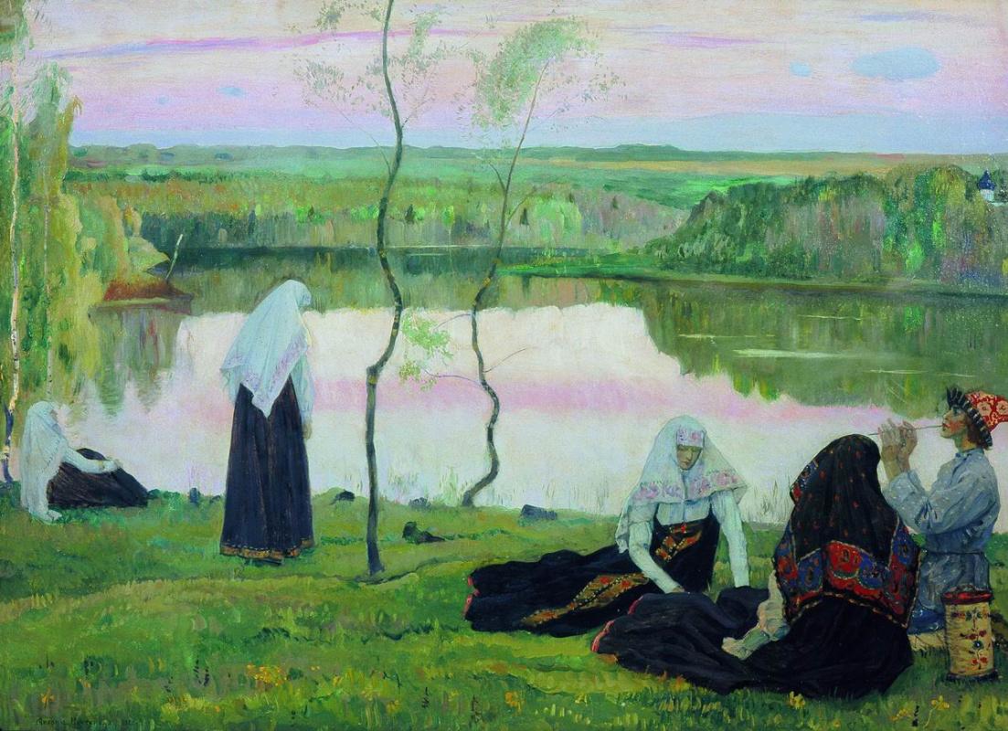 Михаил Васильевич Нестеров. За Волгой