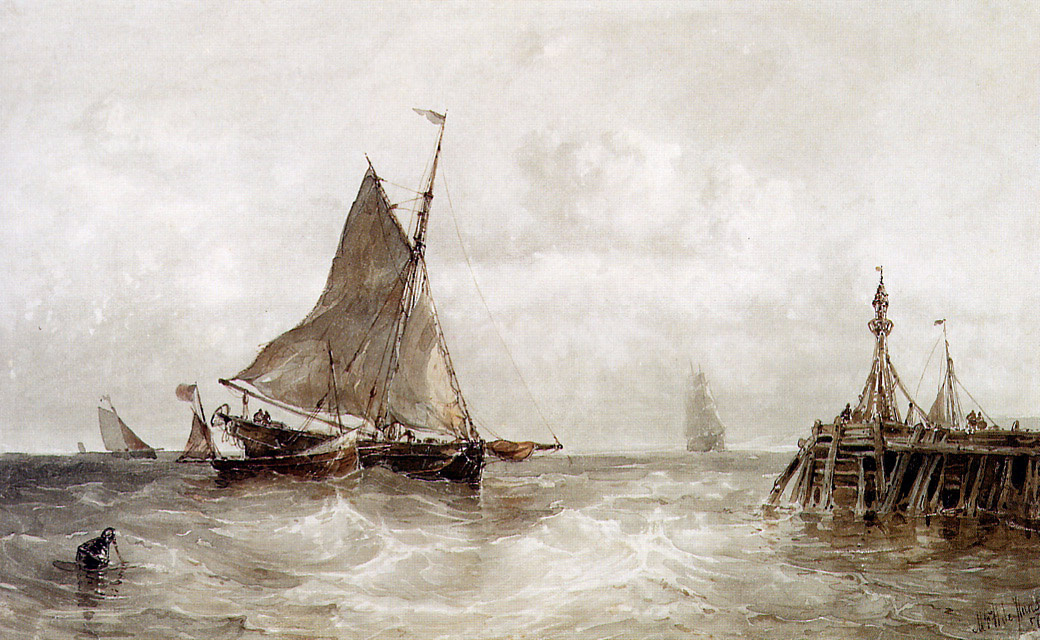 Maurits Frederic Hendrik de Haas. Sailboats