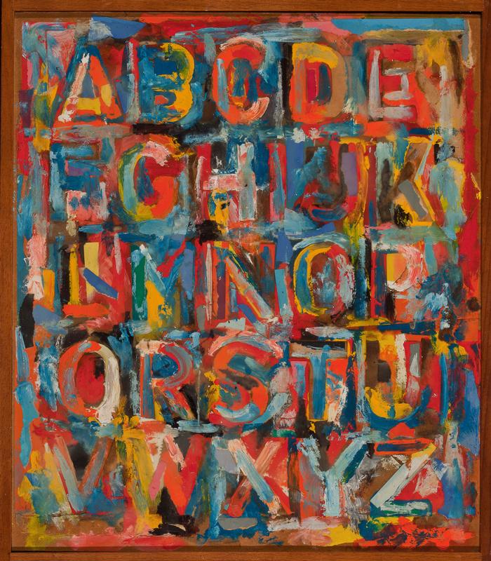 Jasper Jones. Alphabet