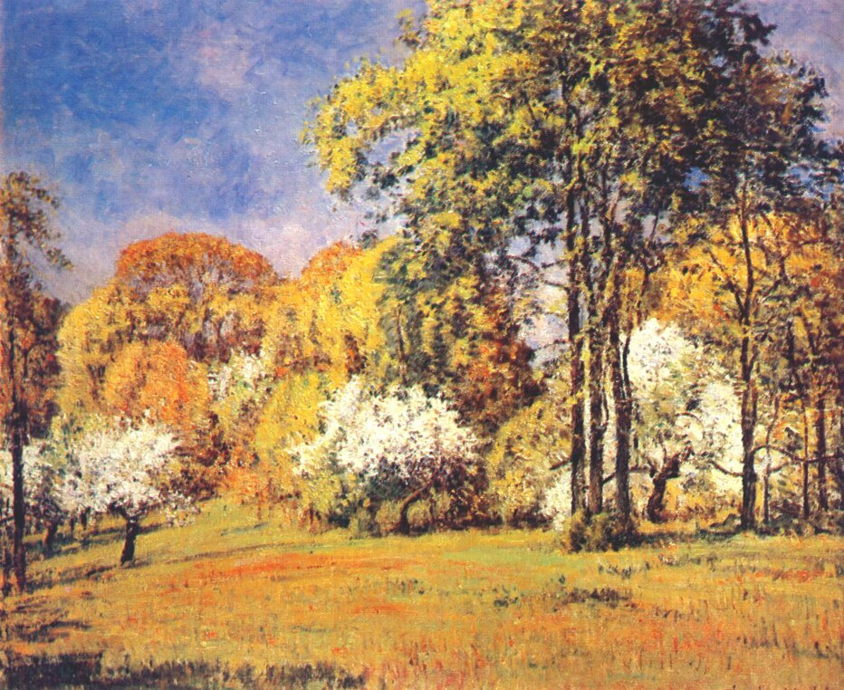 Tatiana Moiseevna Wendel. Old garden