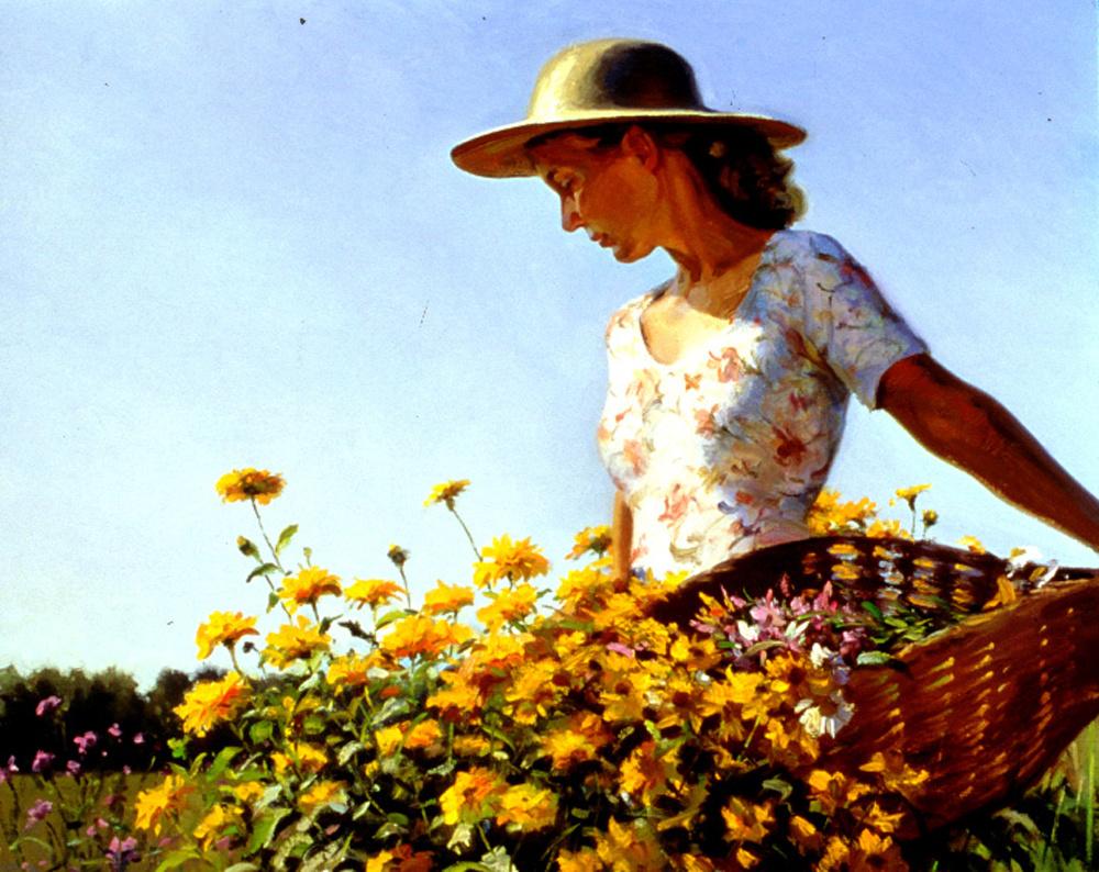 Джеффри Ларсон. Женщина в саду