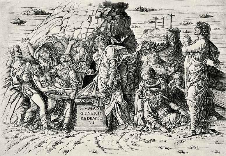 Andrea Mantegna. Entombment